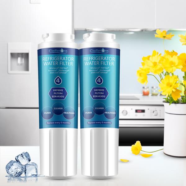 Whirlpool Filter 4 Comparison: Everydrop Water Filter VS Clatterans